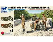 Bronco CB35035 Triumph 3HW Motorcycle w/MP Set