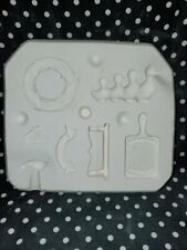 Scioto Molds S-1294 Country Magnet Ceramic Slip Casting Mold