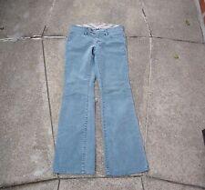 Gap Corduroy Pants Size 2R Unique Color Blue Grey Long & Lean Boot Cut EUC 2