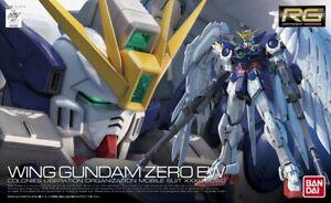 Bandai Spirits Wing Gundam Zero EW RG 1/144 Model Kit USA Seller