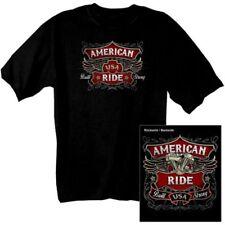 Camisetas de hombre de manga corta negro Harley-Davidson