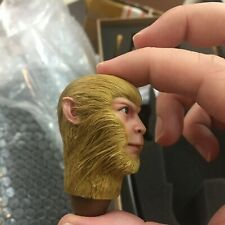 Inflames Journey to the West Monkey King 1/6 CUSTOM FUR / HAIR HEAD SCULPT only