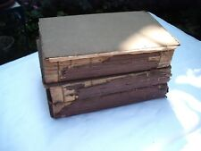 Antique Books - 3 Volumes of The Dramatic Works of Beaumont and Fletcher (1811)
