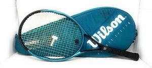 Wilson Hammer 5.0  - 110 - 4 3/8 Tennis Racquet with Case