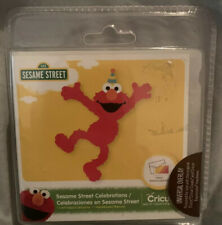 2016 Cricut Cartridge Sesame Street Celebrations 100 Images Tags NEW Unlinked