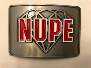 Kappa Alpha Psi - Nupe Belt Buckle