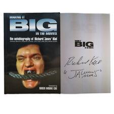 Richard Kiel Signed Book