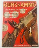 Vintage GUNS & AMMO Magazine October 1963 The Inside Story on Stocks
