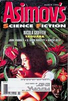 Vtg Isaac Asimov's Science Fiction Magazine March 1995 Nicola Griffith m756