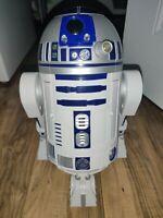 Star Wars R2D2 Astromech Interactive Droid - Hasbro 2002 - Turns On Working