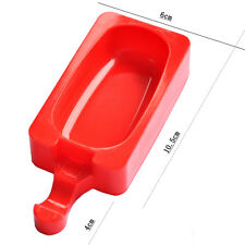 """Reusable """"Oval"""" Ice Cream Mould Ice Lolly Pop Jelly Frozen Mold Cake Bake Tray"""
