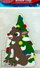Rudolph the Red Nosed Reindeer Gel Window ClingNIP #2