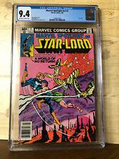 Marvel Spotlight #v2 #7 (Jul 1980) CGC 9.4 2nd comic book app Star-Lord (Quill)