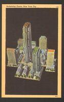 Unused Postcard Rockefeller Center New York City NYC NY