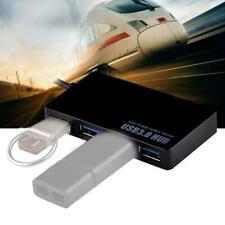 High Speed Multi 4-Port USB 3.0 Hub Portable For Laptop Notebook L7B7