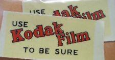 Use KODAK film To Be Sure Waterslide Lot W