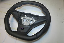 BMW E60 E61 E63 5 6 E64 custom steering wheel  flat TOP & BOTTOM M5 M6 manual