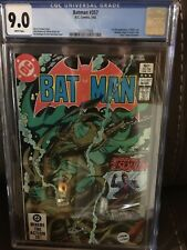 Batman #357  CGC 9.0 White Pages 1st Killer Croc and Jason Todd