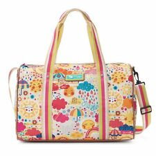 NWT Lily Bloom Lily Zen  Tara Weekender Overnighter Duffle Bag Spring Showers