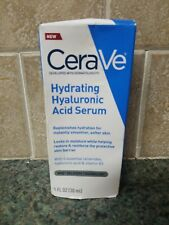 CeraVe Hyaluronic Acid Face Serum 1oz | Hydrating Serum for Face with Vitamin B5