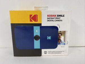 KODAK Smile Instant Print Digital Camera – 10MP Camera w/2x3 ZINK Printer (Blue)