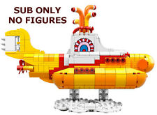 NEW Incomplete LEGO IDEAS YELLOW SUBMARINE SET no figures 21306 beatless ub only