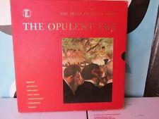 """Time Life Records The Opulent Era 4 Disc Vinyl 12"""" Discs"""