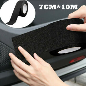 Protector Sill Scuff Cover Auto Car Door Plate Sticker Bumper Body Anti Scratch