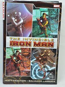 Invincible Iron Man Omnibus Vol. 1 Hardcover  Fraction & Larroca