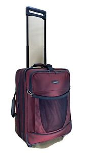 """Briggs & Riley Transcend 20"""" Carry on Wide Exp Wheeled Luggage TD-U520XW Sunset"""