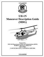 208 page USMC UH-1N HUEY MANEUVER Marine Corps Flight Manual on CD