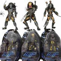AVP Celtic Predator Masked Scar Predator Figure Alien Action Figure Toys