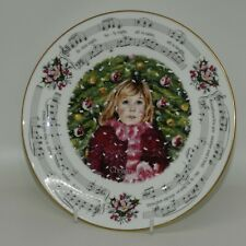 Royal Doulton 1983 Christmas Plate Silent Night | Uk made | very pretty