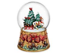 Breyer Horses Holiday Traditions Christmas Musical Snow Globe 2016 700237