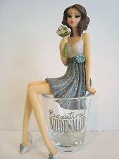 Beautiful Bridesmaid Girl In Shot Glass # 73653 Hiccup NIB Bridal Wedding