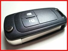 QUALITY 2 BUTTON FLIP KEY FOB CASE for VAUXHALL ASTRA J INSIGNIA ZAFIRA CORSA D+