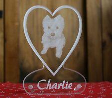 Fotogravur Hund Tier Foto auf Acrylglas individuelle Gravur + Geschenk