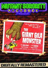 GIANT GILA MONSTER - DVD - Region Free - Sealed