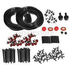 150FT Micro Drip Irrigation Self Watering Automatic System Drippers Plant Garden