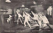 Freshfield near Liverpool. Holmwood School Gymnasium # 15626 by P.A.Buchanan.