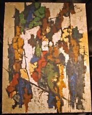 KOREAN ARTIST Lee SeDuk Original Oil Painting 1959