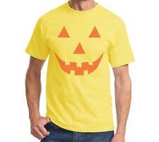 Funny Halloween T Shirt Pumpkin Face Easy Costume Jack O Lantern Spooky Fun Tee