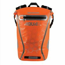 Oxford Bicycle Bike Cycle Rider Waterproof Aqua V 20 Backpack Bag Orange OL998