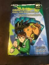 Ben 10 Omnitrix Game duel for power game NEW box open but cards sealed