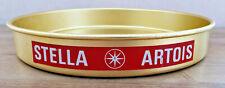 Ancien Plateau Métal Publicitaire Stella Artois Déco Bistrot Bar Collection
