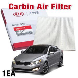 OEM Parts 97133-3SAA0 Cabin Air Filter 1Pcs for KIA 2011 - 2013 Optima / K5