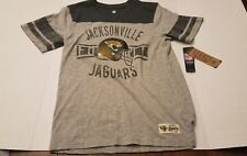 Jacksonville Jaguars Kids Youth Size XL-18 NFL Legacy Athletic T-Shirt NWT