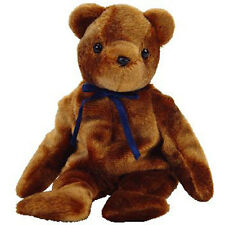 TY Beanie Baby - TED-e the Old Face Brown Bear (Internet Exclusive) (8.5 inch)