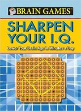 Brain Games Sharpen your IQ-Holli Fort,Elizabeth Barker