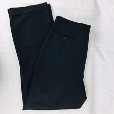 Golden Fil Men's 36/33 Dress Pants Black Wool Slacks Nice! Special Event Winter